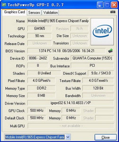 intel x3100和intel显卡架构性能分析