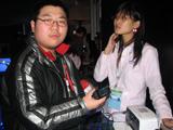 网友 天堂的成功者 现场试玩诺基亚N73联机打印照片