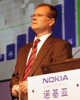 诺基亚客户及市场运营部执行副总裁Robert Andersson