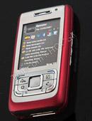诺基亚红色滑盖手机E65