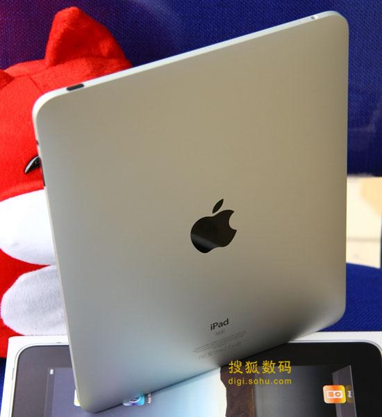 图为苹果iPad