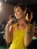 模特展示富士新品